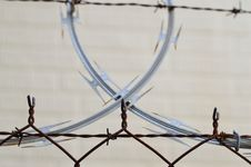 Free Barbed, Wire, Barrier Royalty Free Stock Photography - 109898587