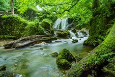 Free Beautiful, Cascade, Creek Stock Images - 109898954
