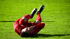 Free Adult, Athlete, Cramps Royalty Free Stock Photography - 109899017