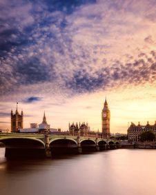 Free Big, Ben, Bridge Stock Images - 109899174