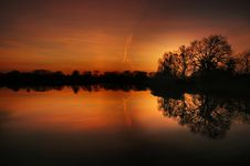Free Abendstimmung, Afterglow, Backlit Royalty Free Stock Photography - 109899577