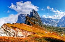 Free Alp, Clouds, Dolomites Royalty Free Stock Photos - 109899598