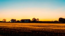 Free Agriculture, Barn, Clouds Royalty Free Stock Photos - 109899718
