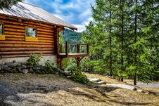 Free Beam, Cabin, Clouds Stock Photos - 109901003