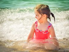 Free Beach, Child, Enjoyment Stock Photography - 109901072