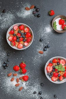 Free Berries, Bowl, Delicious Stock Photography - 109901372