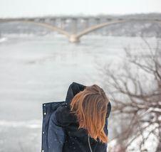Free Alone, Blur, Bridge Royalty Free Stock Image - 109901786