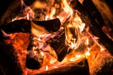 Free Ash, Blaze, Bonfire Stock Photos - 109901913