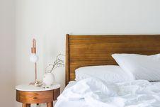 Free Bed, Bedroom, Blanket Stock Image - 109902241