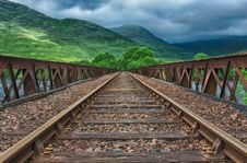 Free Bridge, Clouds, Cloudy Stock Image - 109902381
