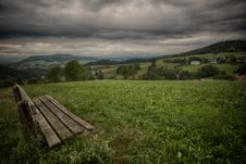 Free Bench, Clouds, Countryside Stock Photos - 109902613