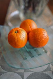 Free Three Oranges Stock Image - 109903221