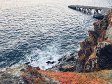 Free Cliff, Coast, Island Royalty Free Stock Image - 109903786
