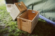 Free Wooden Boxes Royalty Free Stock Photography - 109904267