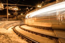 Free Time Lapse Photography Of Train Royalty Free Stock Photos - 109904368