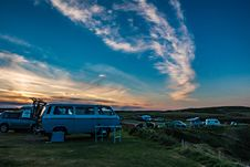 Free Automobile, Campervan, Camping Stock Photography - 109904412