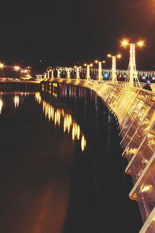 Free Lights Of Pier III Stock Image - 109904581