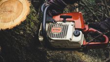 Free Chainsaw, Equipment, Machine Royalty Free Stock Photography - 109904617