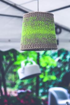 Free Lamp With Wool Royalty Free Stock Photography - 109905297