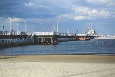 Free Pier In Sopot / Baltic Sea Stock Photos - 109905873