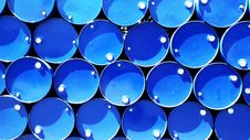 Free Blue, Containers, Drums Royalty Free Stock Images - 109905949