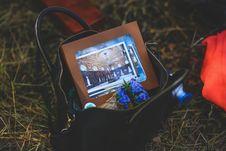 Free In Girl S Handbag Stock Photography - 109905992