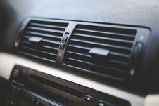 Free Car Interior / Air Conditioner Royalty Free Stock Photo - 109906205
