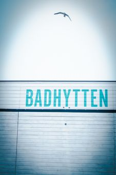 Free Badhytten Signage Stock Photos - 109906743