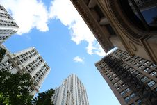 Free Low-angle View Of High-rise Buildings Royalty Free Stock Image - 109907026