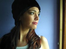 Free Attractive, Beanie, Beautiful Royalty Free Stock Image - 109907186