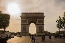 Free Arc De Triomphe In Paris, France Stock Images - 109907254