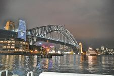 Free Bridge Under Grey Cloudy Sky During Nighttime Stock Images - 109907304