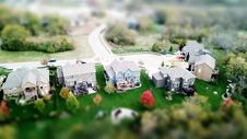 Free Miniature Village Photo Royalty Free Stock Photo - 109908345