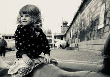 Free Grayscale Photo Of Young Lady Sitting Stock Photo - 109908410