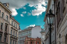 Free Low-angle Photography Of Street Light And Buildings Royalty Free Stock Image - 109908596