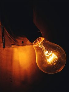 Free Close-up Photography Of A Lightbulb Stock Photography - 109908672