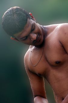 Free Topless Man Stock Photo - 109908860