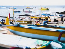 Free Group Of Boats On Sea Royalty Free Stock Photo - 109908945