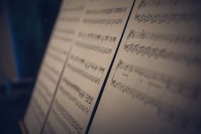 Free Musical Notes Stock Photo - 109909020