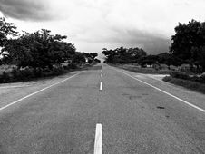 Free Grayscale Photography Of Concrete Road During Daytime Royalty Free Stock Photos - 109909218