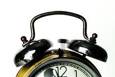 Free Black Ring Bell Alarm Clock Royalty Free Stock Photo - 109909225