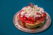 Free Strawberry Cheesecake Stock Photos - 109909553