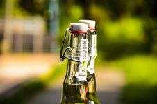 Free Selective Focus Photography Of Two Clear Air Tight Bottles Royalty Free Stock Image - 109909806