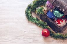 Free Closeup Photo Of Christmas Decors Stock Photography - 109910062