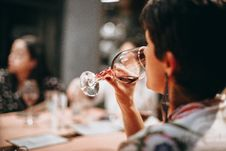 Free Person Drinking Wine Royalty Free Stock Photography - 109910067