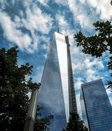 Free One World Trade Center Stock Photography - 109910102