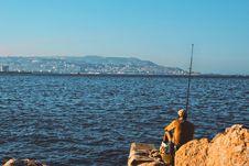 Free Man Fishing Stock Images - 109910134