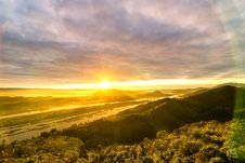 Free Green Trees Photo During Sunset Royalty Free Stock Image - 109910276
