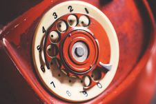 Free Close-up Photo Of Rotary Telephone Stock Photos - 109910403