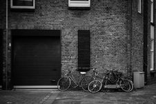 Free Grayscale Photography Of Bicycles Stock Image - 109910581